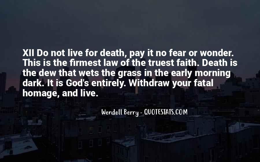 Quotes About Early In The Morning #123981