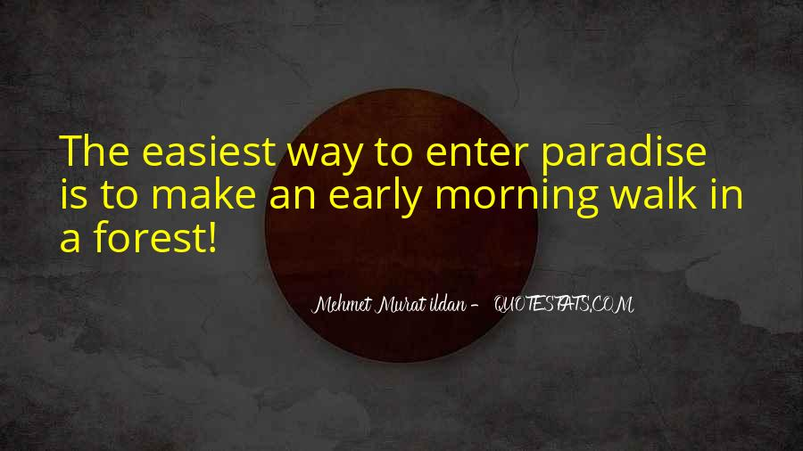 Quotes About Early In The Morning #152094