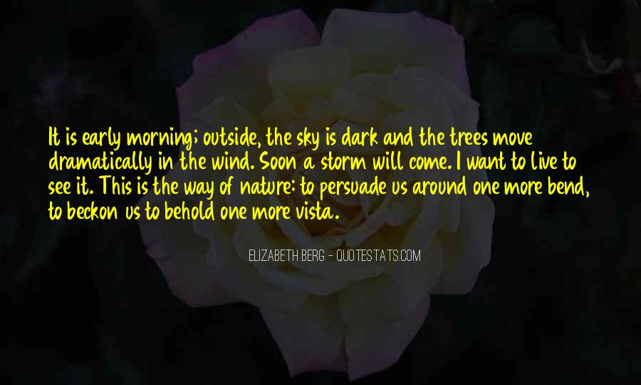 Quotes About Early In The Morning #219384