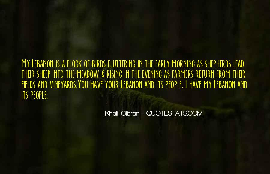 Quotes About Early In The Morning #440012