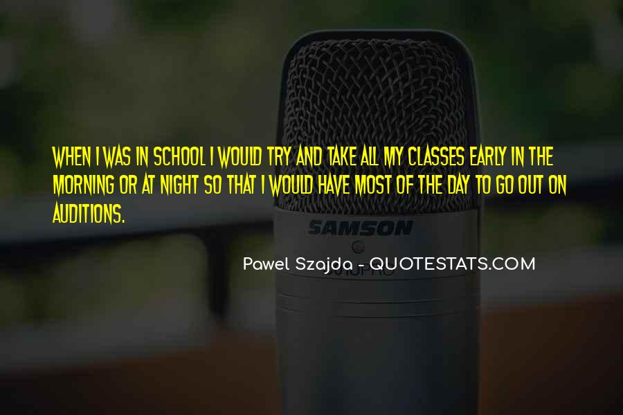 Quotes About Early In The Morning #629656