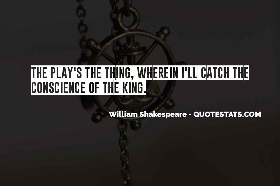 Quotes About Conscience In Hamlet #581701