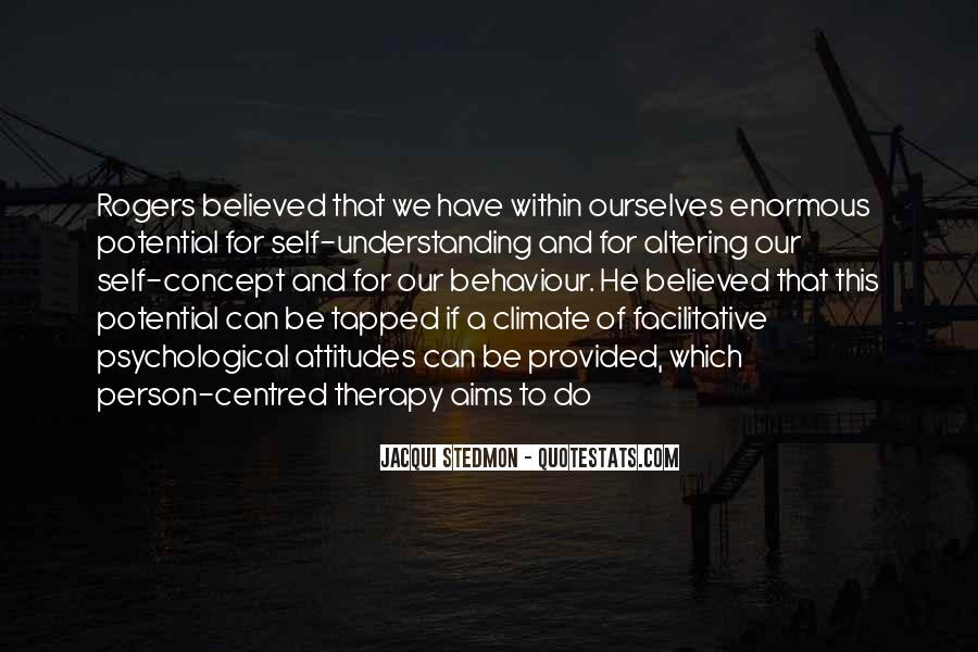 Quotes About Concept Of Self #1690263