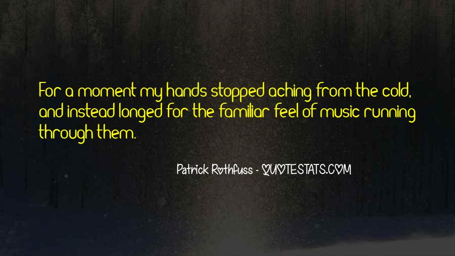Quotes About Aching #160813
