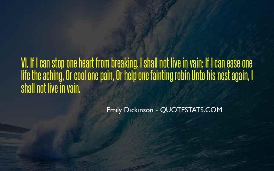 Quotes About Aching #313033