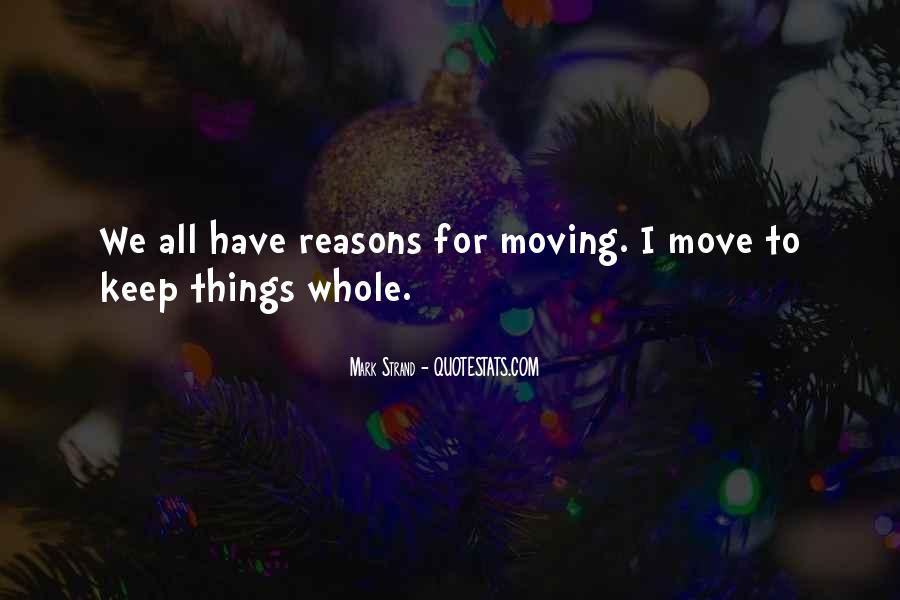 Quotes About Move #7923