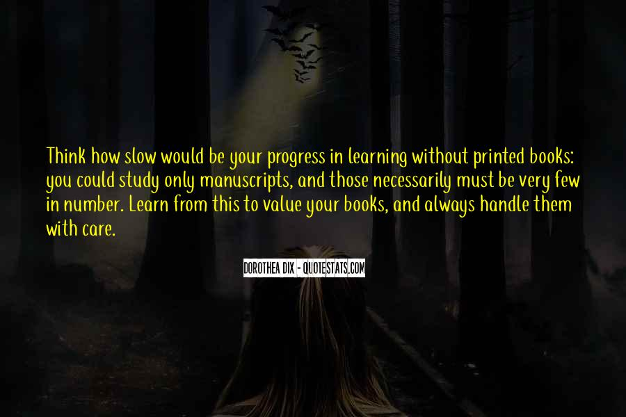 Quotes About Slow Progress #1451734