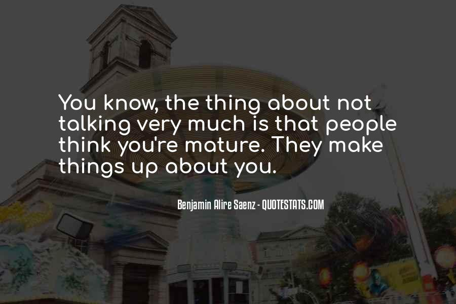 Quotes About People Talking About You #46569