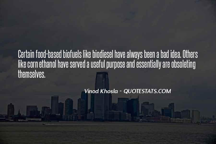 Quotes About Biofuels #307694