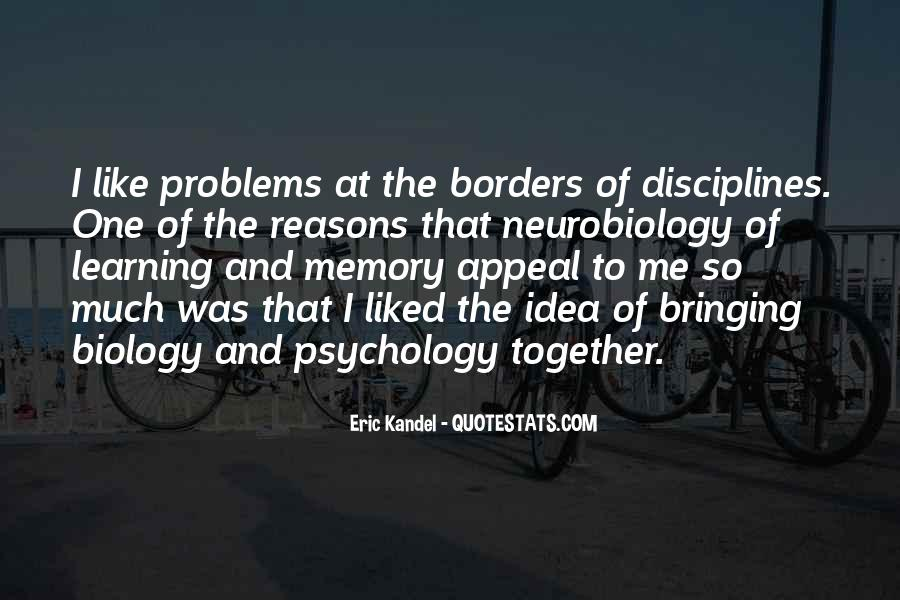 Quotes About Memory Psychology #1032340