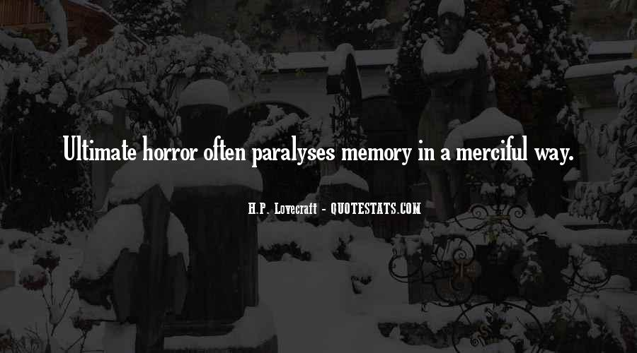 Quotes About Memory Psychology #1121882