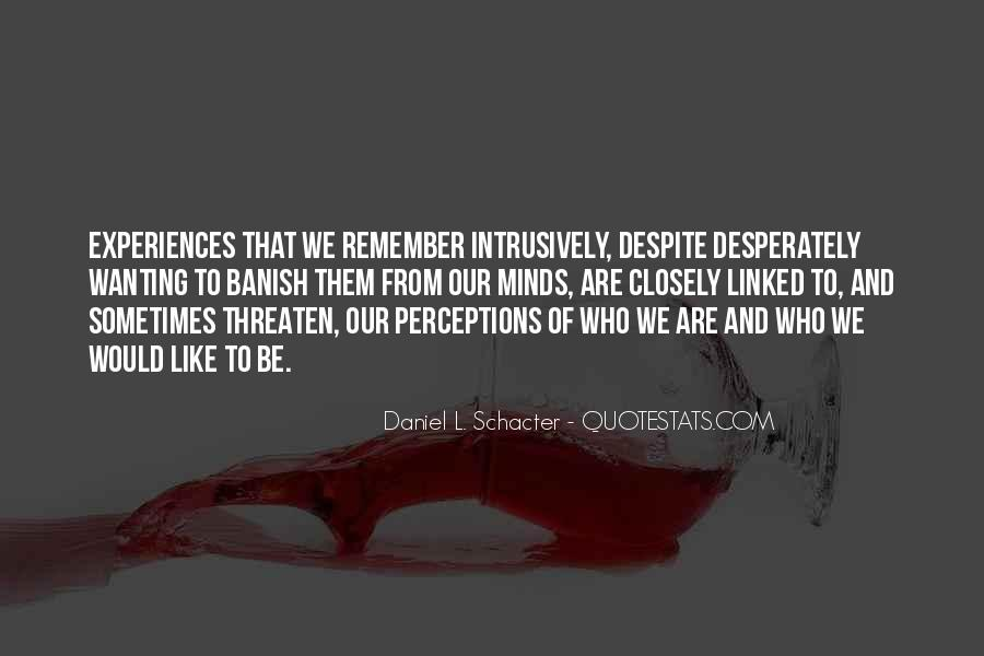 Quotes About Memory Psychology #1147550