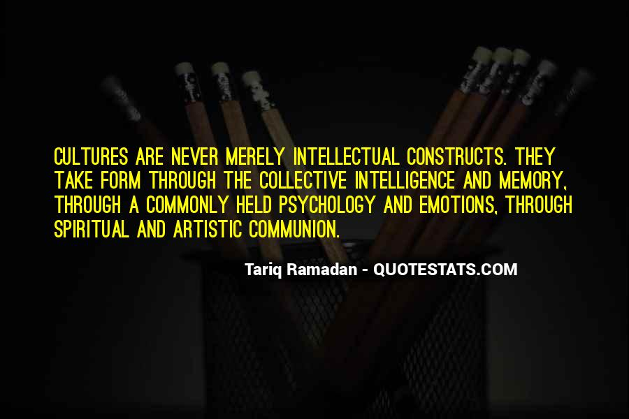 Quotes About Memory Psychology #1206663