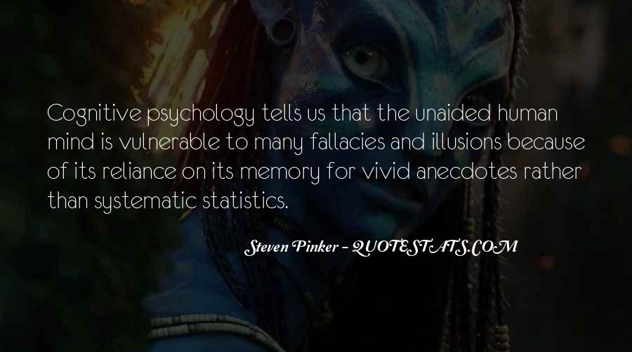 Quotes About Memory Psychology #1628888