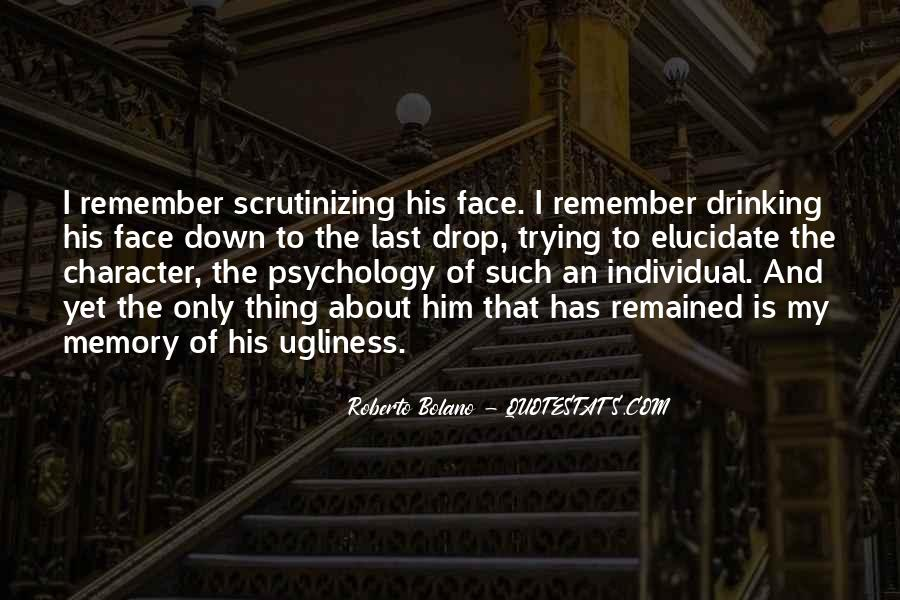 Quotes About Memory Psychology #1723708