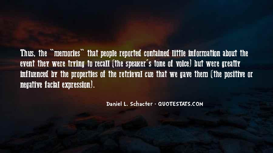 Quotes About Memory Psychology #646638