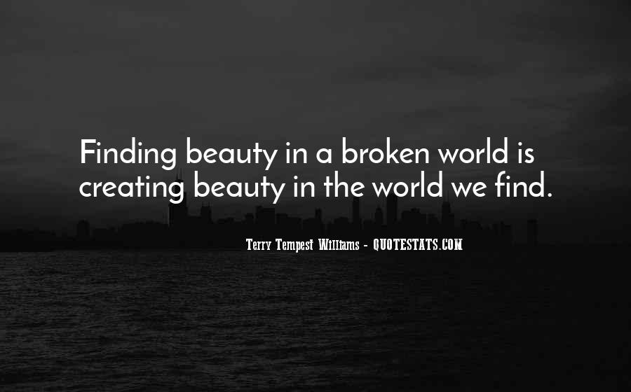 Quotes About Creating Beauty #816345