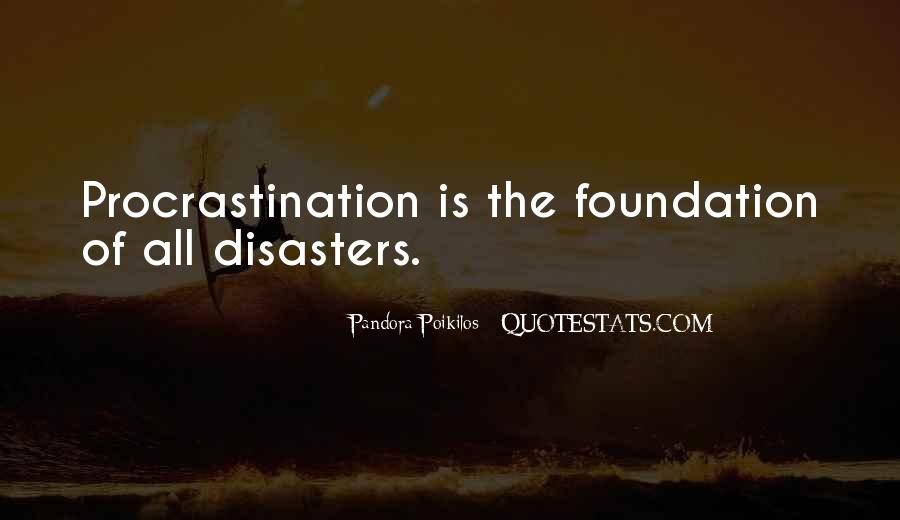 Quotes About Disaster Management #1296421