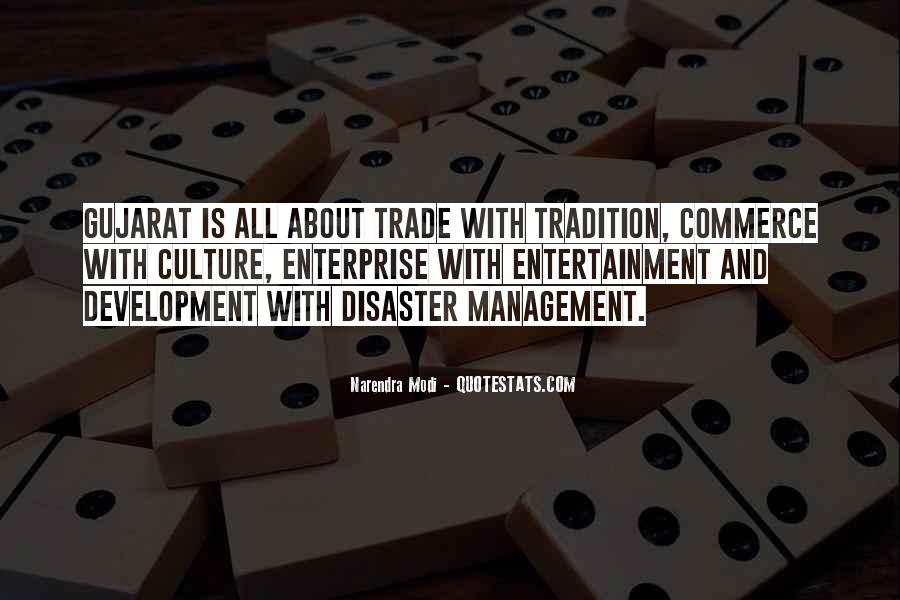 Quotes About Disaster Management #149083