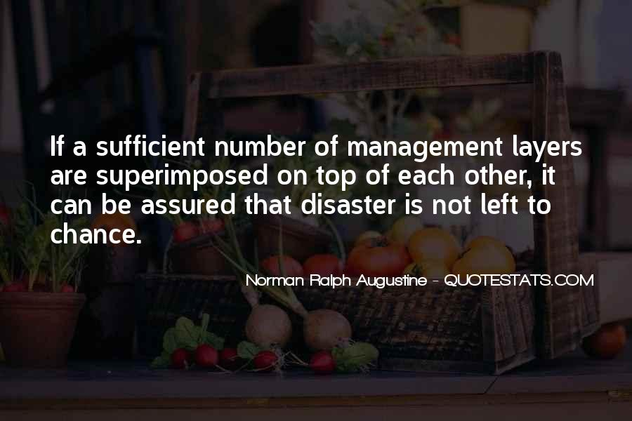 Quotes About Disaster Management #224993