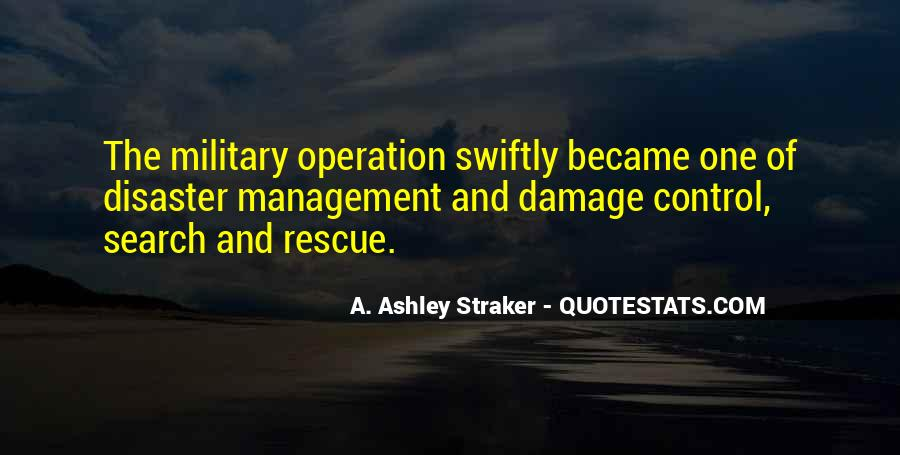 Quotes About Disaster Management #425230