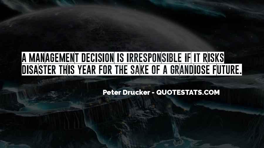 Quotes About Disaster Management #78751