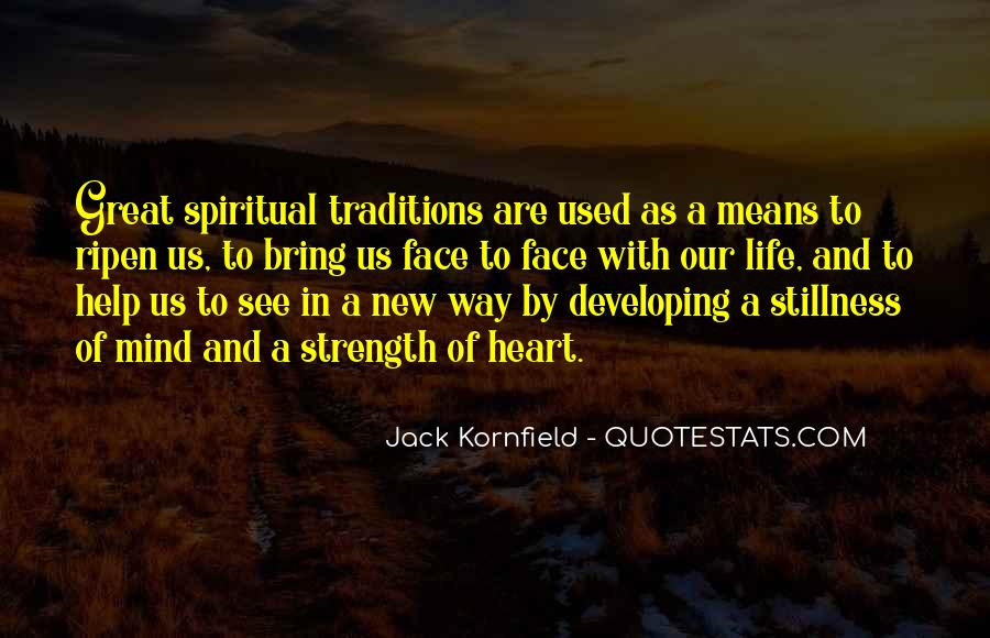 Quotes About Spiritual Strength #117627