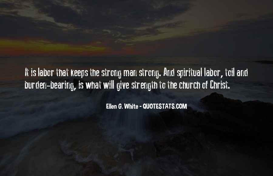 Quotes About Spiritual Strength #124632