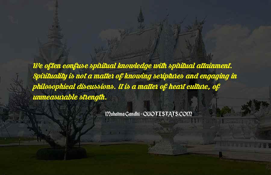 Quotes About Spiritual Strength #148613