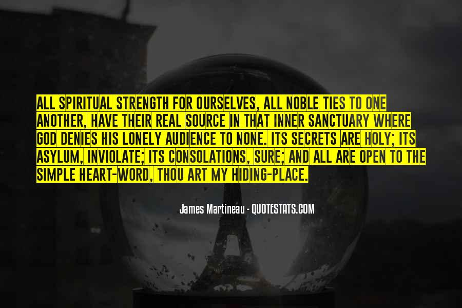 Quotes About Spiritual Strength #396709