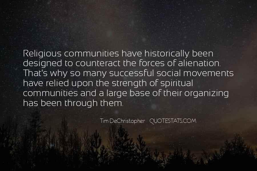 Quotes About Spiritual Strength #418074