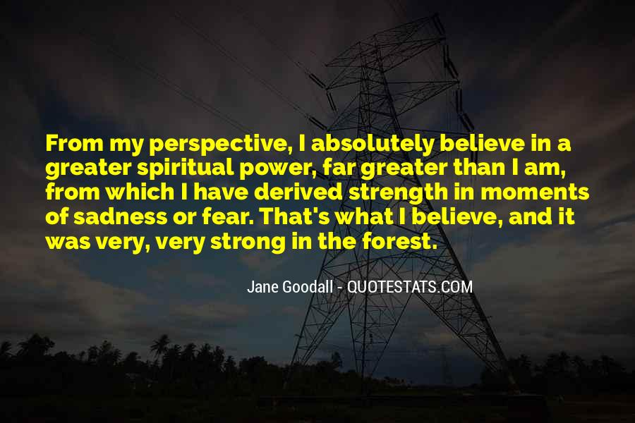 Quotes About Spiritual Strength #43857