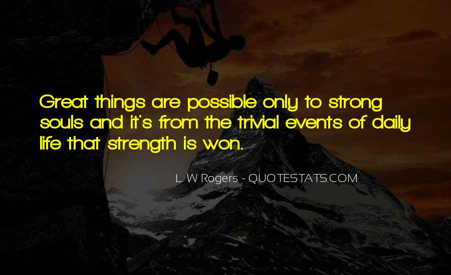 Quotes About Spiritual Strength #48283