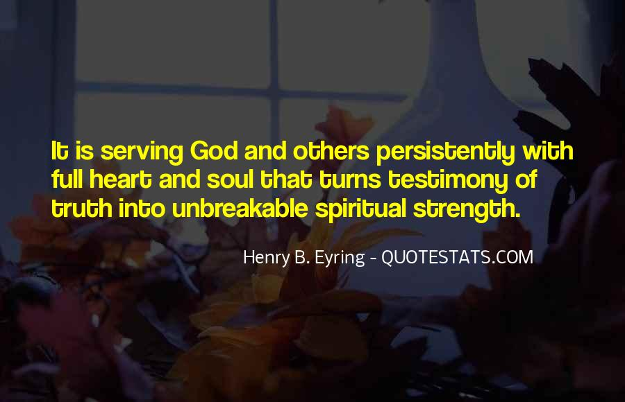 Quotes About Spiritual Strength #483145