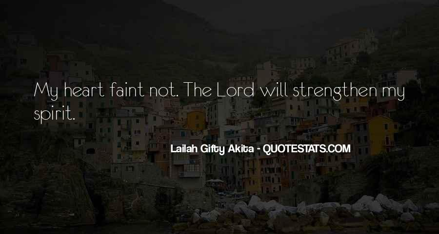 Quotes About Spiritual Strength #510834