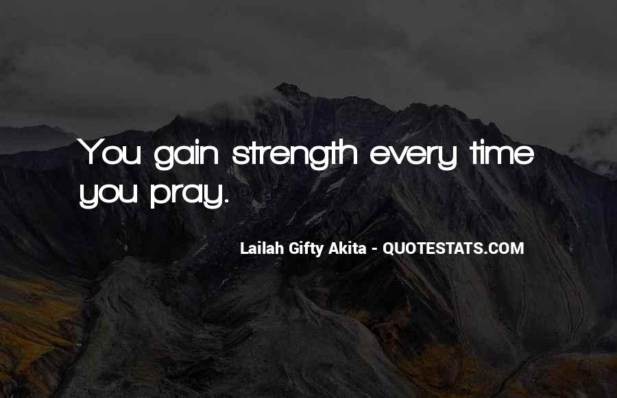 Quotes About Spiritual Strength #513582