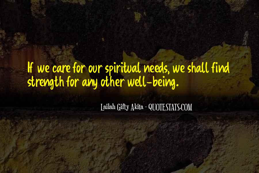 Quotes About Spiritual Strength #572421