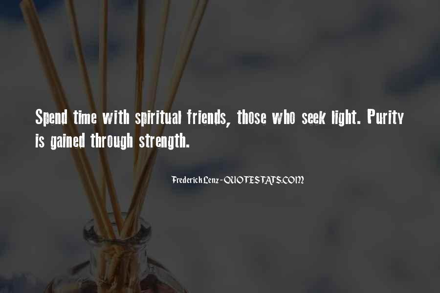 Quotes About Spiritual Strength #595206
