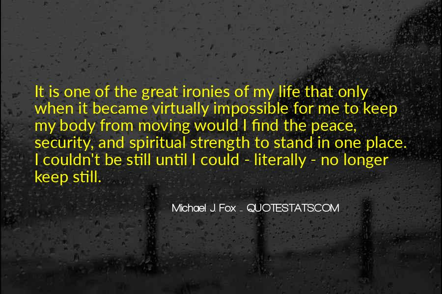 Quotes About Spiritual Strength #713923