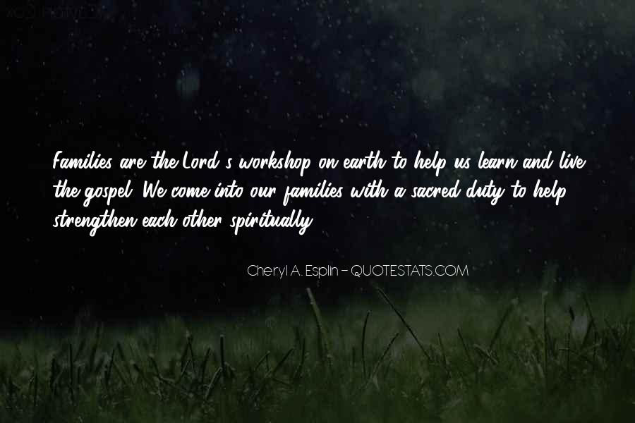 Quotes About Helping The Earth #1117198