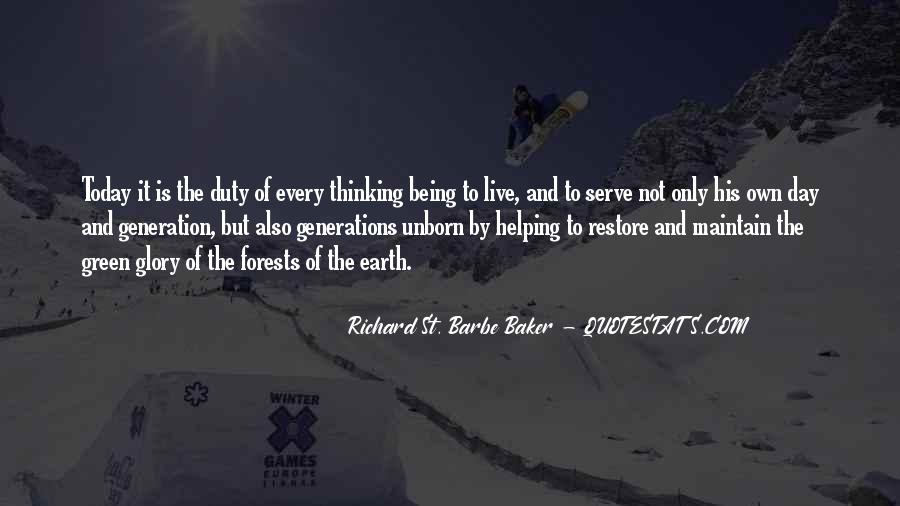 Quotes About Helping The Earth #1307050