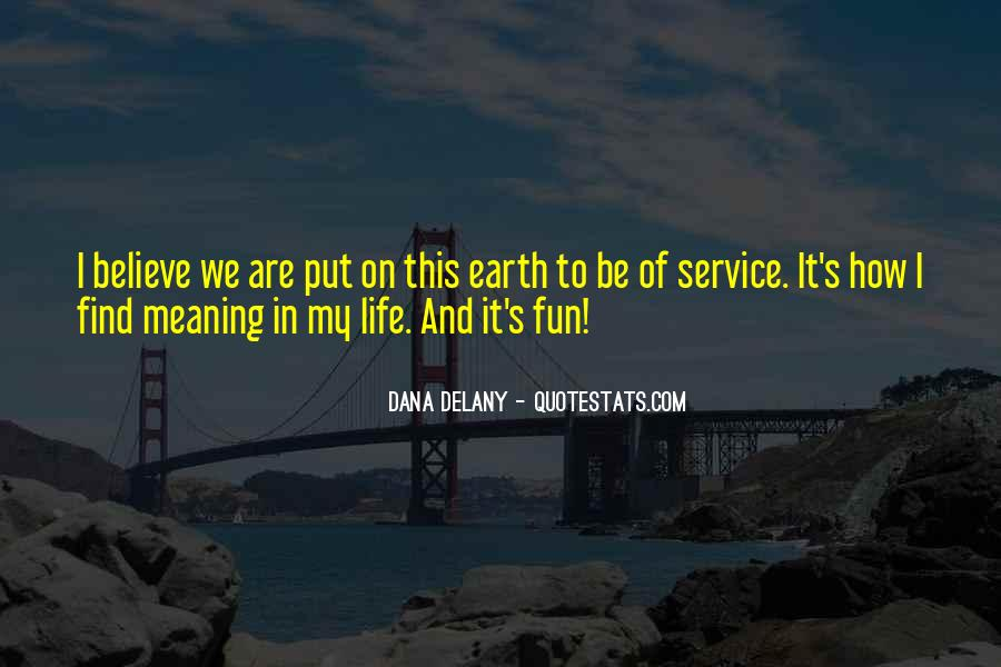 Quotes About Helping The Earth #993487