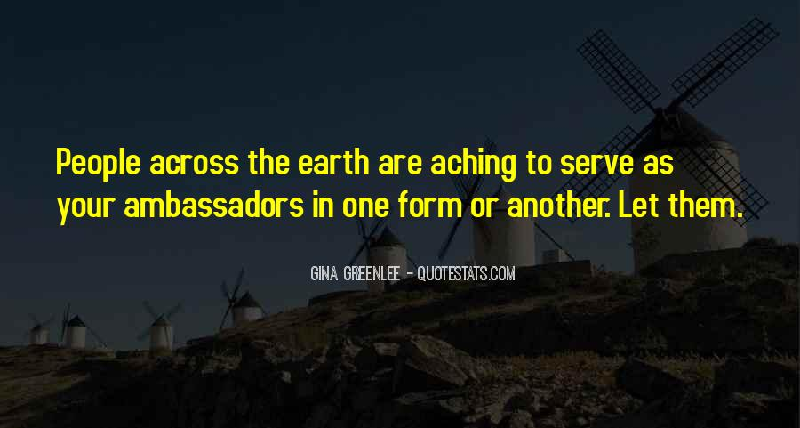Quotes About Helping The Earth #997847