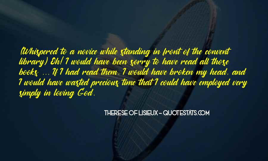 Quotes About Novice #1320653