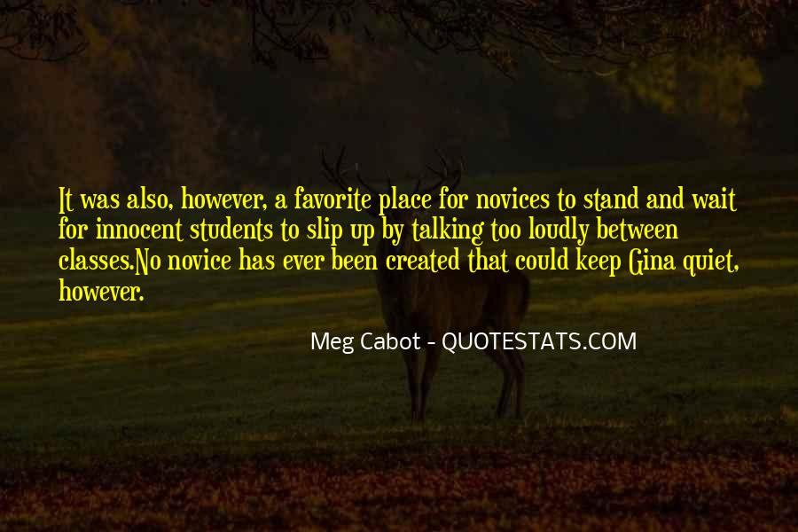 Quotes About Novice #1575199