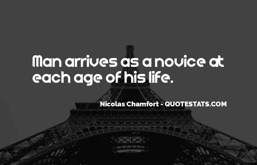 Quotes About Novice #1824264