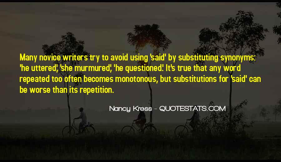 Quotes About Novice #683781