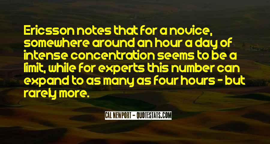 Quotes About Novice #857209