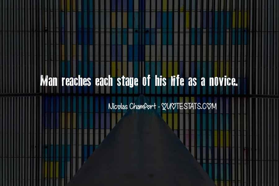 Quotes About Novice #939524
