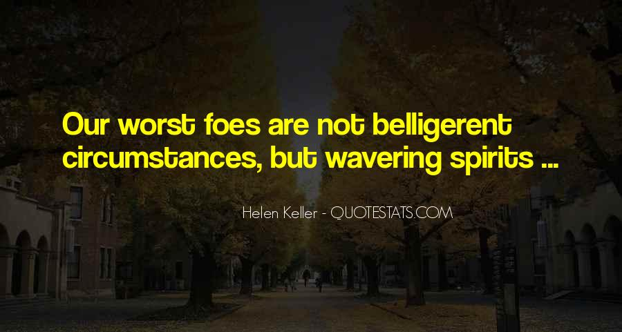 Quotes About Belligerent #1365711